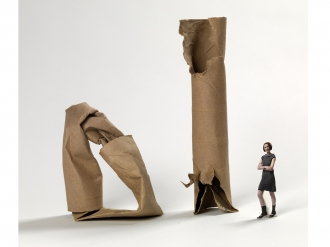 Amazing Cardboard Sculpture